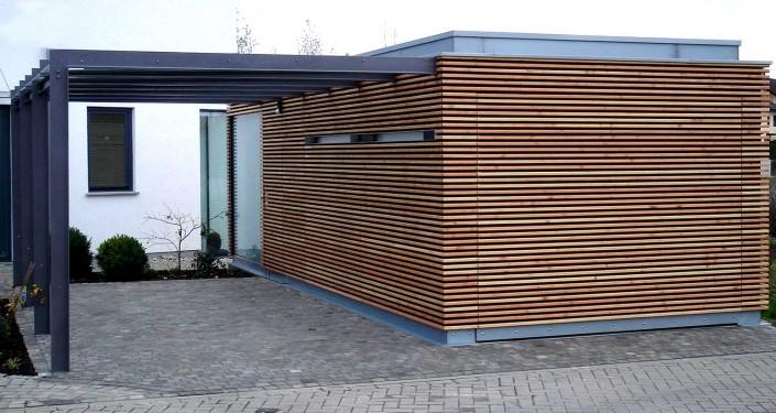 Carport architektenstudio melzer - Abstellraum garten ...